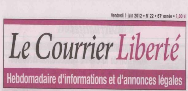 Courrier Liberté, Vendredi 1er Juin 2012, n°22, Cahier spécial «Elections Législatives»